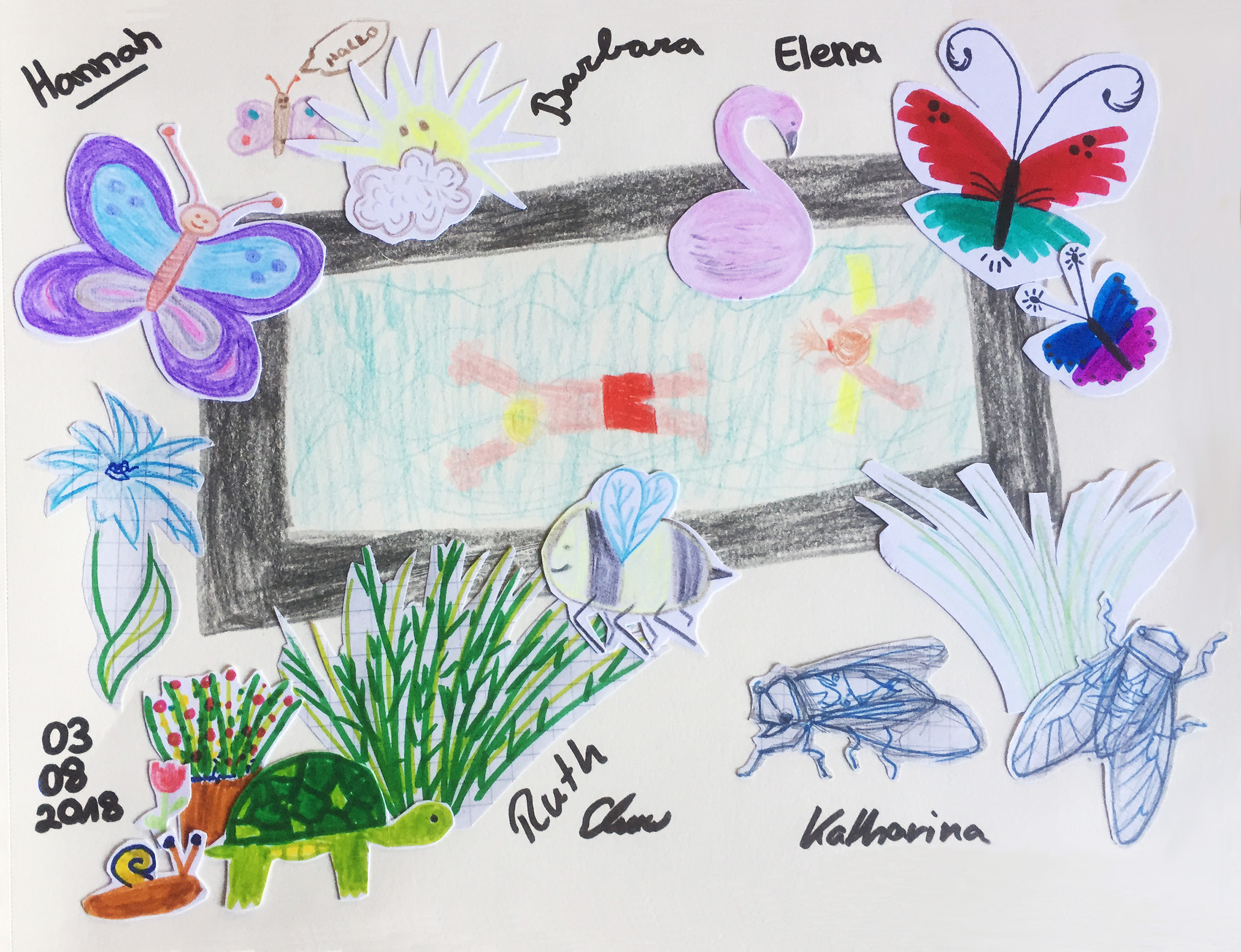 Hannah, Barbara, Elena, Ruth, Katharina | 2018